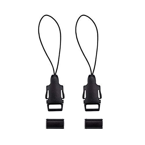 JJC NS-OA2 Schnellverschluss-Kit zum Anbringen eines Umhängegurts an der Kameraöse, z. B. für Ricoh GR, GR II, GR III und andere Kameras mit ähnlichen kleinen Ösen