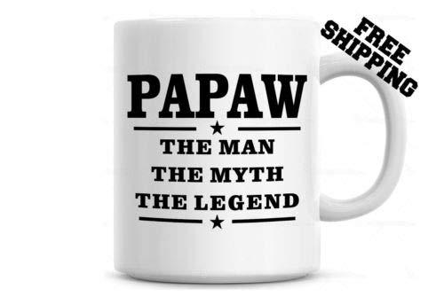 Ad4ssdu4 Papaya beker van de man van de mythos de legende-koffiekop-schaal