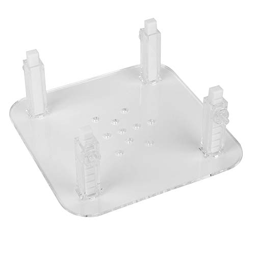 XiangXin durable Protein Separator Accessories, 3 Size Optional Protein Skimmer Bracket, Durable Acrylic for fish tank aquarium(Small skimmer stand)
