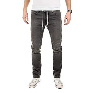 WOTEGA Men's Sweatpants Joggers in Jeans Noah – Pockets Slim
