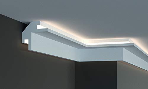 Marco para iluminación indirecta LED de pared y techo - EL203 (1,15 metros)