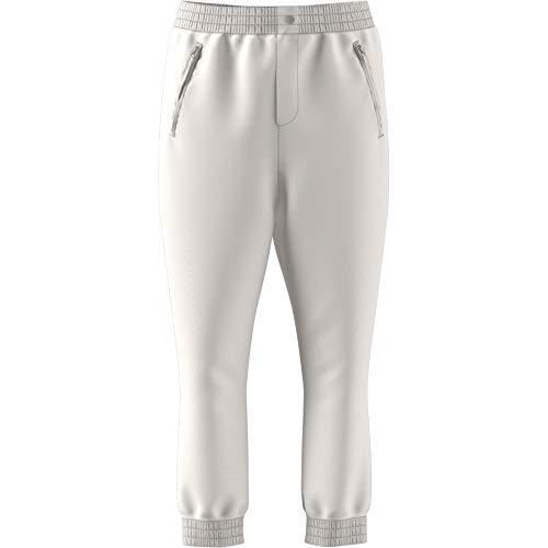 adidas Pantaloni Tuta Donna Kaval Cuffed in Tessuto Bianco DN5564