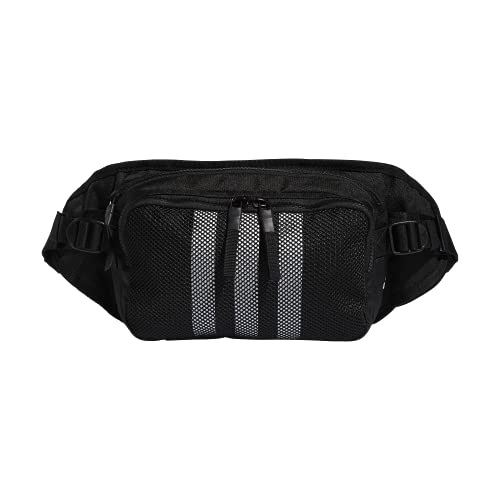 adidas Amplifier Crossbody Bag, Bandolera Unisex, negro/blanco, Talla única