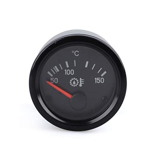 KPTHKW 2'52mm Prensa DE Prensa DE Prensa DE Prensa AL Aceite PSI Barra Tempera DE Agua  Temperatura del Agua  Voltmeter Volt Gauge Barómetro sin Sensor Autopartes (Color : 50 120 Oil Temp)