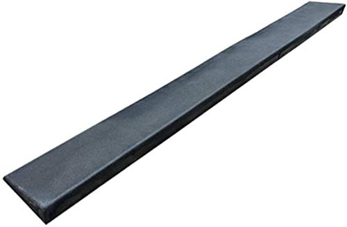 VIVOCC Lightweight Rubber Ramps, Uphill Ramps for Steps, Stairs, Doorways - Non-slip Wheelchair Auxiliary Ramps Trolley Ramps Kerb Ramps (Color : Black, Size : 100 * 4 * 1CM)