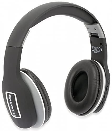 Grundig Auriculares Bluetooth EE1178 Headphones inalámbricos, Color Negro