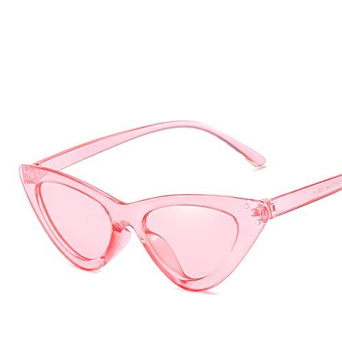 DURIAN MANGO Euroamerikanische Mode Cat-Eye Sonnenbrillen Damen Persönlichkeit Sonnenbrillen,pink