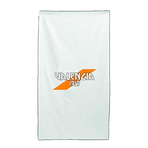 Tipolitografia Ghisleri Toalla, toalla de playa con bandera oblicua Valencia 70 x 140 cm