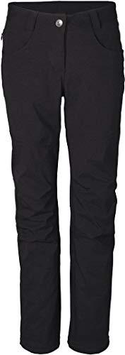 Crivit® Damen Trekkinghose imprägniert mit Bionic Finish ECO® (Gr. 36, schwarz 2)
