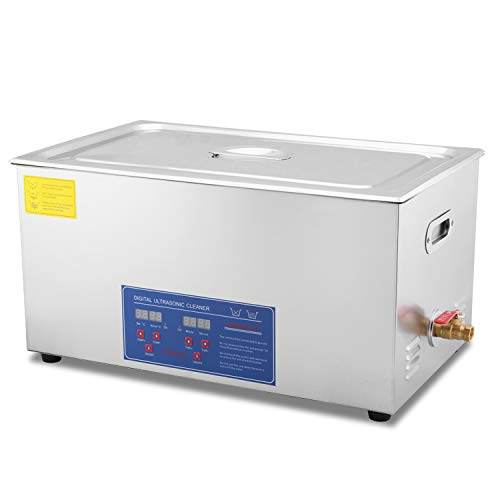 HFS (R) Commercial Grade Digital Ultrasonic Cleaner - Stainless Steel (22L- 5.8GAL)