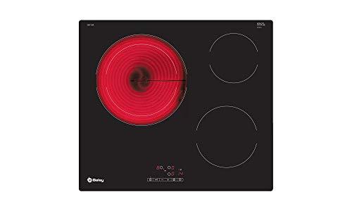 Balay 3EB715ER Placa Vitrocerámica, Negro Integrado 60 cm Cerámico 3 Zonas