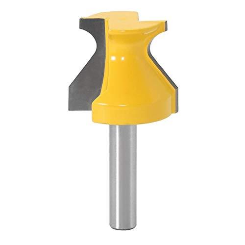 Fresa 1 UNID 8mm Puerta de labio de labio Grip w / 3/16'Radius Router Bit Bit Trimming Fresing cortador de molienda para herramientas eléctricas de cortador de carpintería