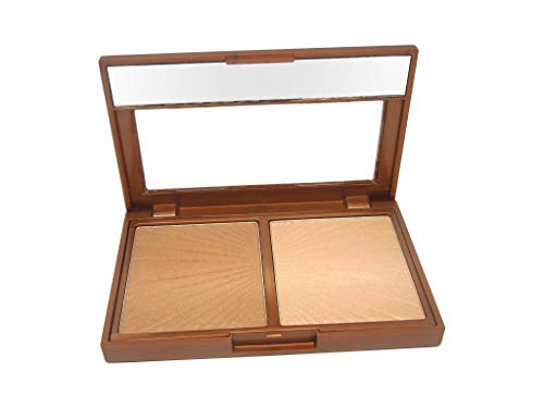 W7 | Bronzer | Hollywood Bronze & Glow Duo Compact | Streak and Smudge Resistant for a Flawless...