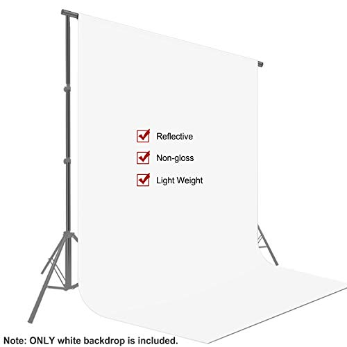 Neewer 9 x 13 Fuß / 2,8 x 4 Meter Fotografie Hintergrund Foto Video Studio Stoff Hintergrund Bildschirm (weiß)