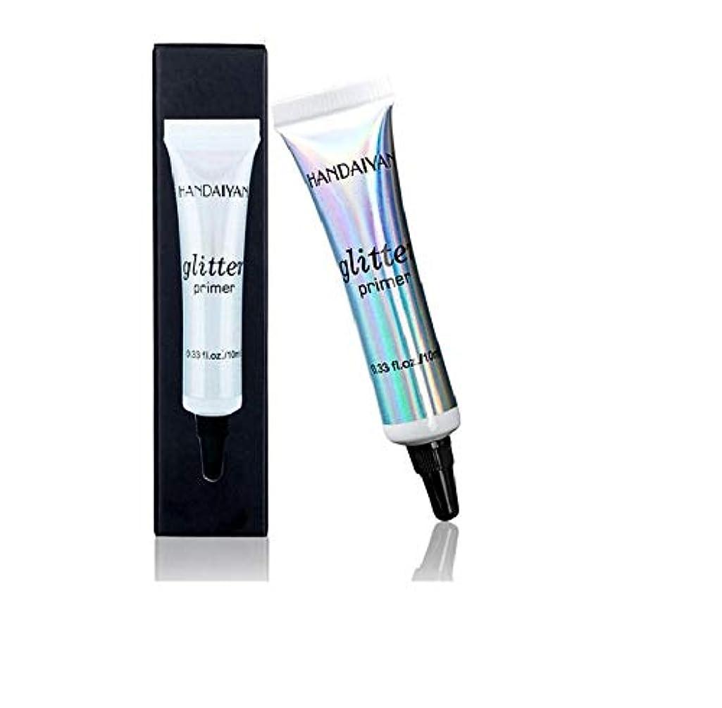 推進力がっかりする主導権アイシャドウSequin Glitter Eye Shadow Fashion Face Lip Eye Makeup Primer Cream Women Universal Makeup Cosmetic