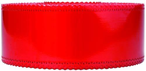 Le Petit Mitron Ruban Charlotte Dentelle Rouge