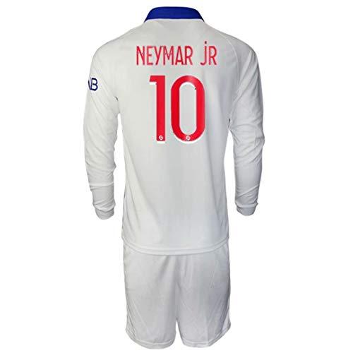 Olesa, maglietta sportiva da uomo e gioventù, 2020-21 # 1 K.navas # 7 Mbappe # 10 Neymar jr maglia da calcio abbigliamento da allenamento uomo e bambini t-shirt 20/21 (via)