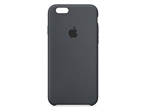 Apple Silikon Case (iPhone 6s) - Anthrazit