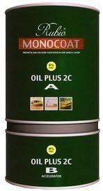 Rubio Monocoat Zero VOC 2 Component 350ML Ice Oil Max 78% OFF Finish Brand new Brown