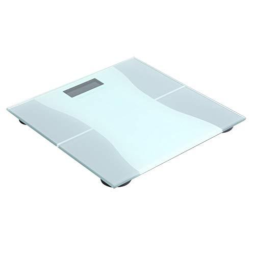 IENPAJNEPQN Escala de Salud Multifuncional Escala de Peso Corporal Adulto de la Familia con la medición exacta de pesaje Digital Báscula de baño (Size : 28 * 28 * 2.5cm)