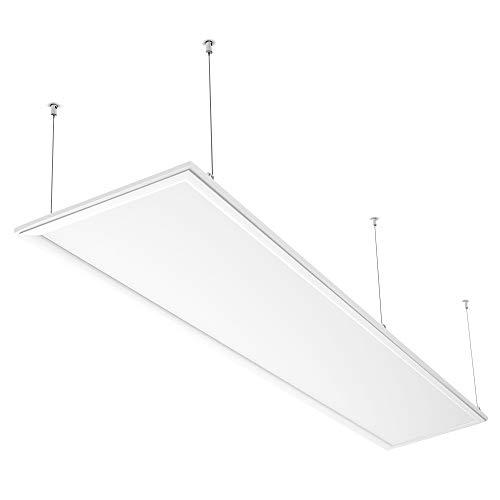 Anten 60W Ultraslim LED Panele 120x30cm für Büro,Wohnzimmer|Deckenleuchte bürobeleuchtung,bürolampe mit Befestigungsmaterial und Trafo(Warmweiß 3000K/Neutralweiß 4500K /Kaltweiß 6000K)