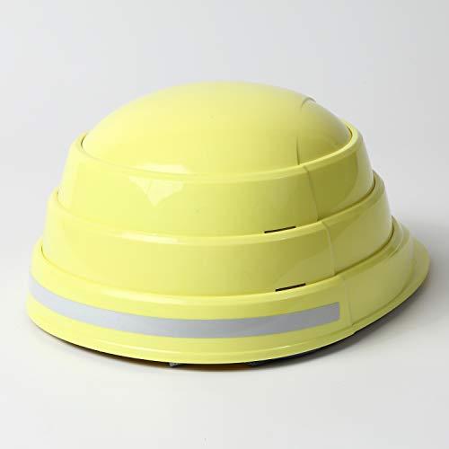 折りたたみ防災用ヘルメットオサメット(反射材付き)osamet(大人用シャインイエロー)