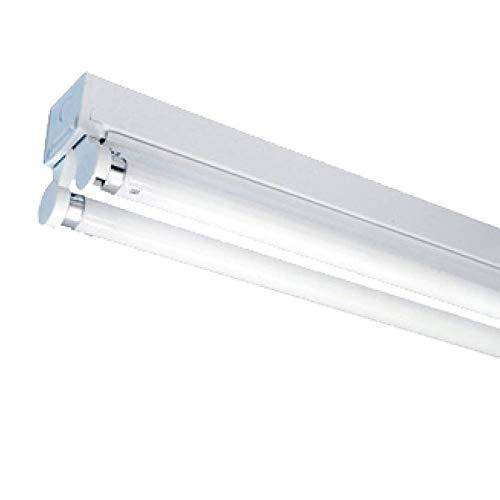 Lámpara LED de baño IP20, 150 cm, 4000 K, 24 W, 5280 lm, 110 lm/W, sin parpadeo.