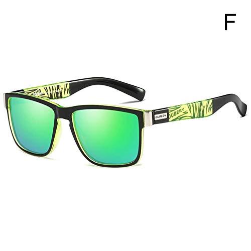 Snow Island DUBERY - Gafas de Sol polarizadas para Hombre, para Deportes al Aire Libre, equitación, Pesca, F