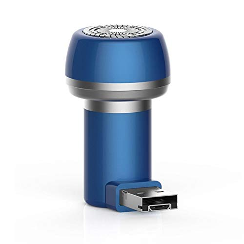 Portátil Mini Magnético Teléfono Móvil Afeitadora Profesional Impermeable Pelo Trimmer Trimmer Cortador de pelo Clipper (Color : Black)