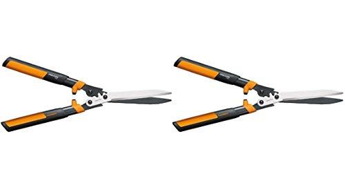 Why Choose Fiskars Garden 392861-1002 Powergear2 Hedge Shears, 23, Black/Orange