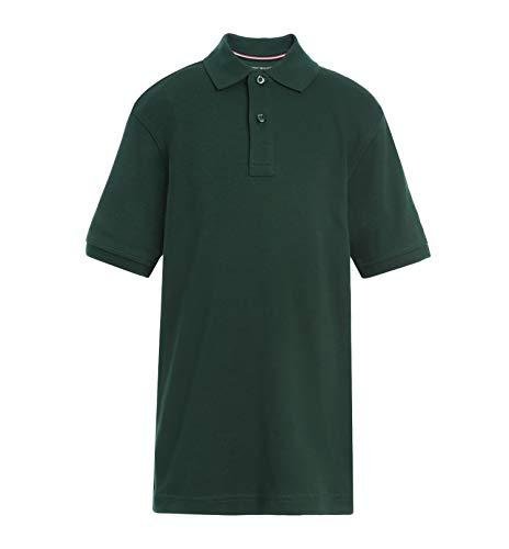 Tommy Hilfiger Kids' Short Sleeve Interlock Co-Ed Polo Shirt, Boys &...