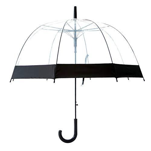 Artiron Star Clear Umbrella Bubble Fashion Dome Auto Open Transparent Umbrella for Outdoor Weddings...