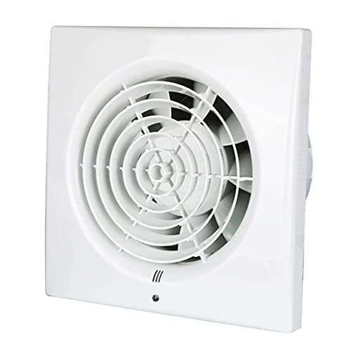 Release Extractor de baño, Extractor de Cocina de 4 Pulgadas, ventilación de Dormitorio, Escape silencioso con Ventana montada en la Pared, baño