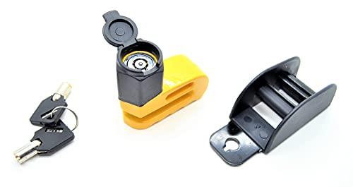 bloqueo de freno de disco rápido, candado de moto , simple dispositivo anti-robo, 2 llaves, parada de freno, moto ,bicicleta eléctrica, motocross, ebike