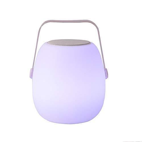 Warm nachtlampje tip meerdere kleuren Select LED-licht mannen vrouwen kinder-nachtlamp-creatief geschenk-Bluetooth luidspreker lamp bedlampje lamp met draadloze