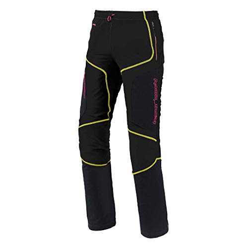 Trangoworld SANNAT SN Pantalons Femme, Noir, XL