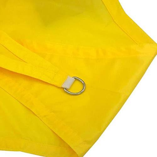 OUPAI Sonnensegel Sunblock Sonnenschutznetz Rectangle Sun Sonnensegel, Breathable textiler Sonnenschutz Sail Top for Outdoor-Überdachung Innenhof Rasen Spielfläche, Permanent oder temporären Einsatz g