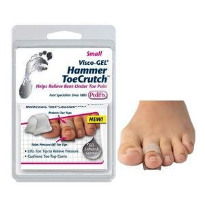 Pedifix Footcare Visco-Gel Hammer Toe Crutch - Small, Pack of 2