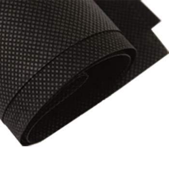 Tapicerias Villalba, 1 metro de tst tejido sin tejer ancho 160cm, color negro, tnt, fabricacion de mascarillas, filtro mascarillas.