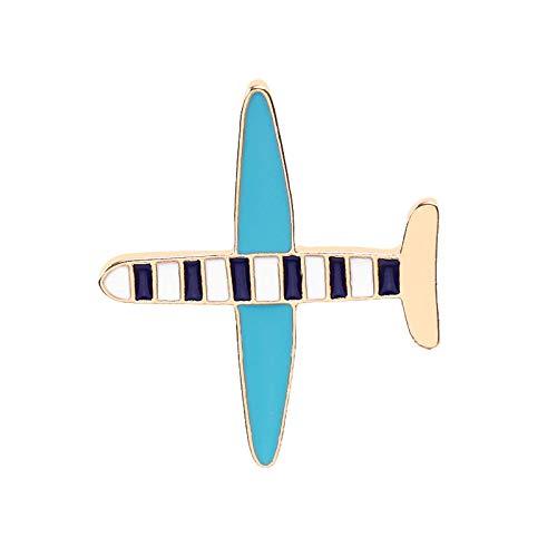 MKOIJN Broche Herfst En Winter Creatieve Kleine Vliegtuig Broche Decoratie Badge Kleding Shirt Dames Broche, Gebruikt Voor Verjaardagscadeau Partij Diy Crafts