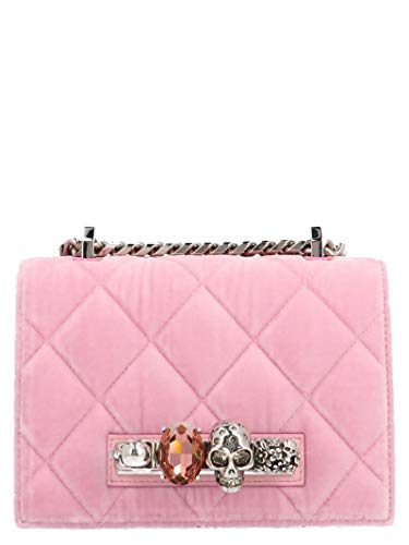 Alexander McQueen Luxury Fashion Donna 558541KR4AY5541 Rosa Borsa A Spalla | Autunno Inverno 19