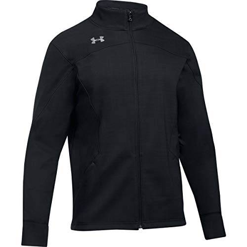 Under Armour Men's Barrage Soft Shell Jacket (X-Large, Black)