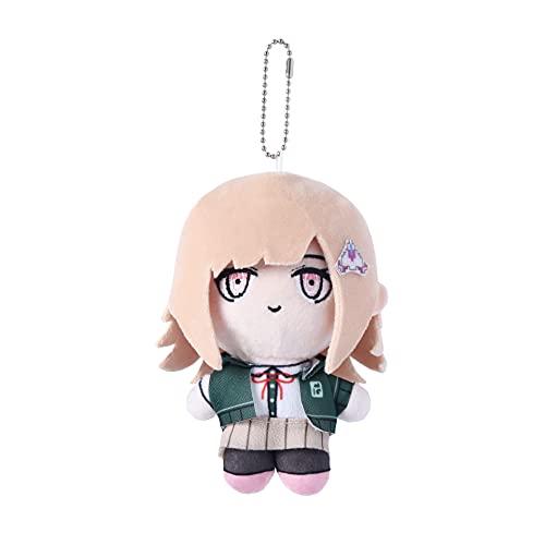 6' Danganronpa V3 Plush Stuffed Doll Anime Figures Chiaki Nanami Plushie Keychain Toy Gift Cosplay Props for Game Fans (Nanami Chiaki)