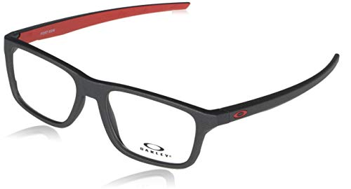 Oakley 0OX8164 Gafas, Satin Light Steel/Demo Linse, 51 Unisex Adulto