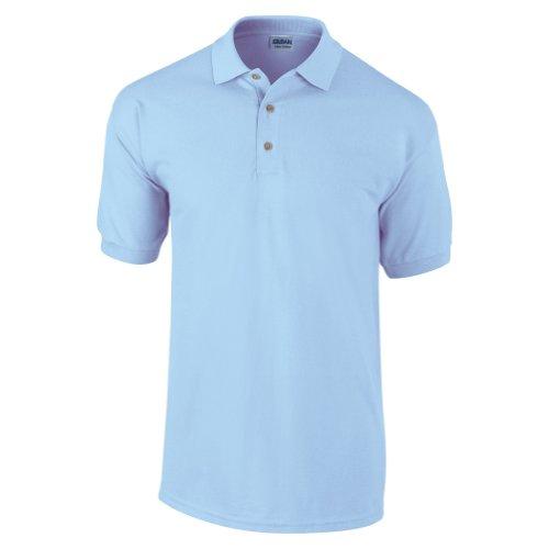 Gildan Ultra Herren Piqué Polo-Shirt, Kurzarm XXL,Hellblau