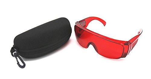 ONEGenug Lasersichtbril veiligheidsbril overbril laser lichtbeschermingsbril bescherming golflengte 200Nm-540nm