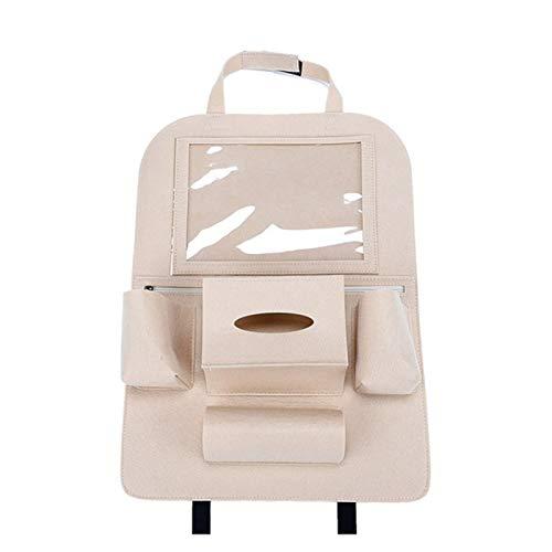 Bolsas para maletero del coche 1pcs asiento trasero del coche Organizador Multi-bolsillo sintió Holder bolsa de almacenamiento coche de la tableta multifunción vehículo bolsa de almacenamiento Accesor