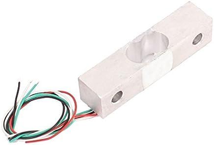 eDealMax aleación de aluminio de cocina Escala DE 5 kg de peso Sensor de pesaje de