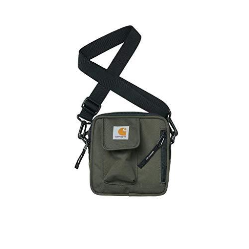 Carhartt WIP Herren Umhängetasche Essentials Bag, Small dunkelgrün One Size