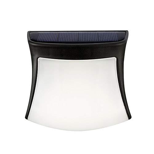 MJSM Light Wandlamp, zonnelamp voor buiten, omheining, terras, sfeer, decoratieve wandlamp, LED voor buiten